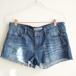 FOREVER 21 Blue light wash Denim Shorts size 29